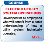 Electric Utility System Operations Training